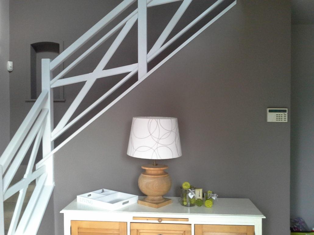 Peinture moderne escalier